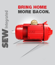 SEW Integrated-Bring home more bacon-benefits of mechatronic drive systems