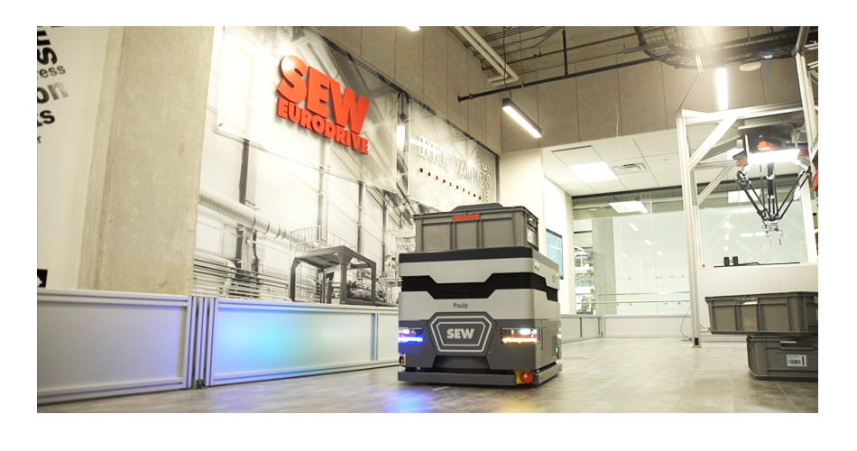 SEW-Eurodrive's Lab ONE Innovation Lab for Industry 4.0