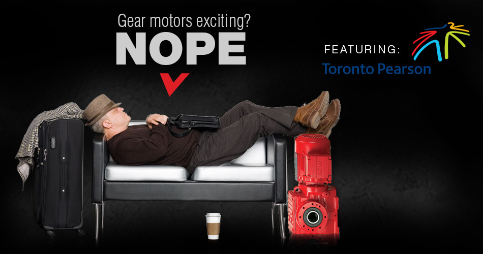 Gear Motors Exciting? NOPE