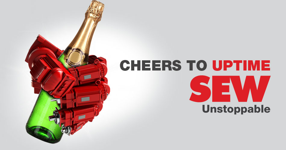 Cheers to uptime, SEW Unstoppable | SEW-Eurodrive Canada
