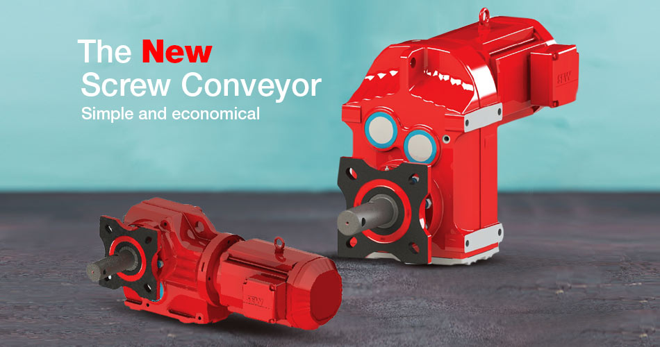 The New Screw Conveyor- Simple and economical